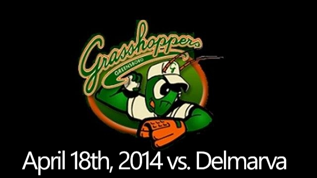 Grasshoppers vs. Shorebirds: April 18th, 2014