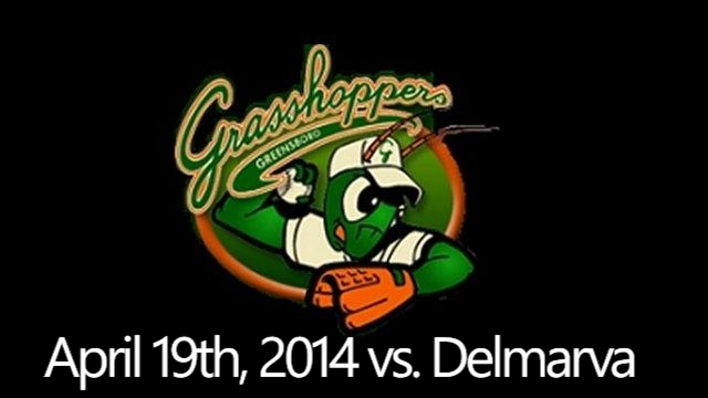 Greensboro Grasshoppers vs. Delmarva Shorebirds: April 19th, 2014